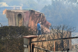 Illustration : Violents incendies en Californie: 9 morts, Malibu menacée