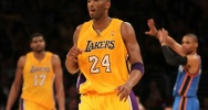 Illustration : Le joueur des Lakers Kobe Bryant, le 19 mai 2012 au Staples Center de Los Angeles