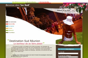Illustration : L'OTI Sud a son site