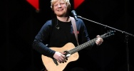 Illustration : Le chanteur de pop britannique Ed Sheeran, le 8 décembre 2017 à New York