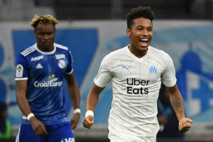 Illustration : Ligue 1: Marseille se rassure un peu contre Strasbourg