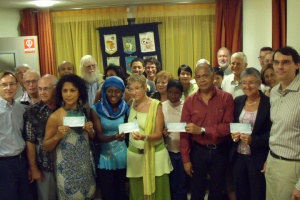 Illustration : Lions club : 3 200 euros pour des associations