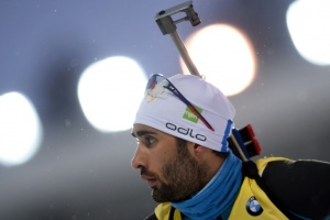 Illustration : Martin Fourcade remporte la poursuite de Tioumen