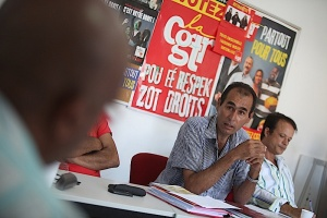 Illustration : Les syndicats CGTR s'unissent