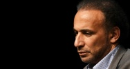 Illustration : L'Islamologue Tariq Ramadan le 26 mars 2016 à Bordeaux