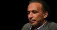 Illustration : L'islamologue suisse Tariq Ramadan le 26 mars 2016 à Bordeaux