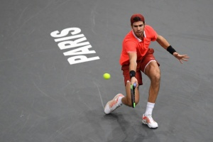 Illustration : Masters 1000 de Paris : Khachanov, flamboyant, douche Djokovic