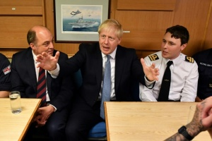 Illustration : Brexit: en visite en Ecosse, Johnson attend un geste de l'UE