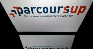 Illustration : Logo de Parcoursup, le 19 avril 2018