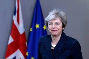 Illustration : Brexit : May tente de sauver son accord avant un vote crucial mardi