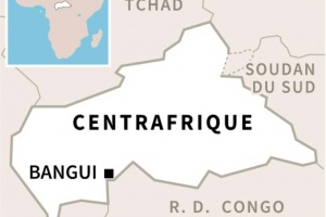 Illustration : Centrafrique: deux journalistes de l'AFP violemment interpellés à Bangui