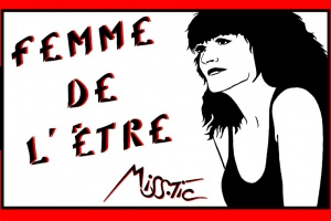 Illustration : Miss.Tic crée ses timbres