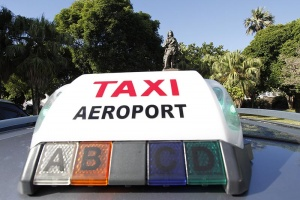 Illustration : Les taxis ne veulent pas de la navette Air France