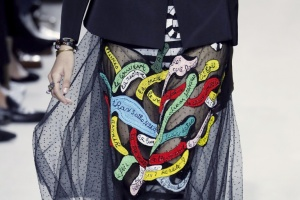 Illustration : Fashion week: Dior hisse les couleurs de Niki de Saint Phalle