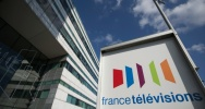 Illustration : Le si�ge de France Televisions, le 5 avril 2016