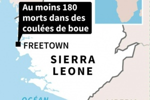 Illustration : Inondations en Sierra Leone: le bilan monte à 180 morts