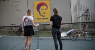 Illustration : Les artistes de rue Eleanor et Juliette du collectif