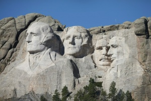 Illustration : Barack Obama se verrait bien sculpté sur le Mont Rushmore