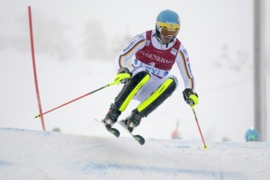 Illustration : Victoire de Neureuther au slalom de Levi