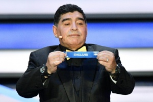 "Illustration : ""Pas de passion"": Maradona critique l'attribution du Mondial-2026 au trio USA-Canada-Mexique"