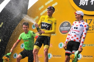 Illustration : Chris Froome annonce qu'il participera au Tour d'Italie 2018
