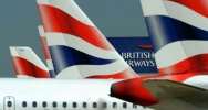Illustration : Des avions de la compagnie British Airways à l'aéroport de Londres Heathrow, le 24 mai 2010