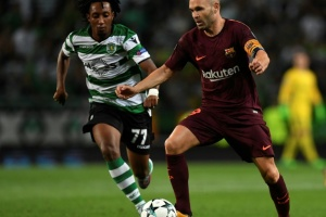 Illustration : Catalogne: Iniesta, le capitaine du FC Barcelone, lance un appel au dialogue