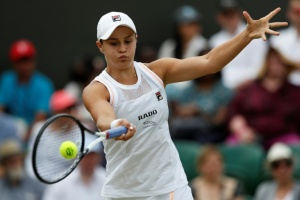 Illustration : Wimbledon: Barty rate le rendez-vous attendu avec Serena Williams
