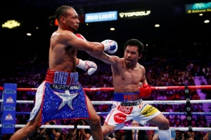 Illustration : Boxe: Pacquiao surpasse Thurman et s'empare de la couronne WBA des welters