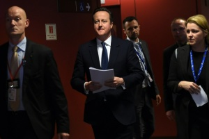Illustration : GB/UE: Cameron attaque les pro-Brexit et tente de rallier Boris Johnson