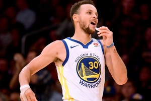 Illustration : NBA: Stephen Curry éblouissant pour son retour