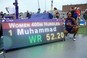 Illustration : 400 m haies : record du monde pour Dalilah Muhammad