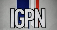 Illustration : Le logo de l'IGPN le 13 juin 2019