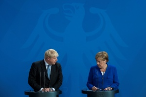 Illustration : Brexit: Merkel juge possible un accord dans les 30 jours avec Boris Johnson