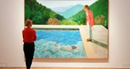 Illustration : Le tableau de David Hockney