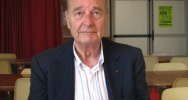 Illustration : L'ancien pr�sident Jacques Chirac le 26 juillet 2012 � Paris