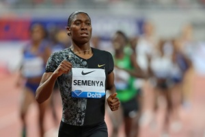 Illustration : Ligue de diamant: comme un symbole, Semenya s'impose à Doha