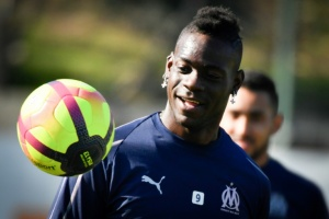 Illustration : Ligue 1: Mario Balotelli titulaire avec Marseille face au Paris SG
