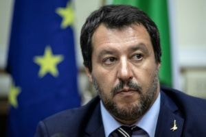 Illustration : La charge de Salvini contre les magistrats faits des remous