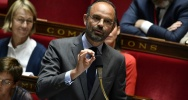 Illustration : Le Premier ministre Edouard Philippe à l'Assemblée nationale, le 22 mai 2018 à Paris