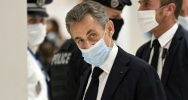 Illustration : Nicolas Sarkozy arrive au tribunal, le 23 novembre 2020 à Paris