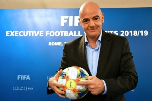 Illustration : Fifa: à Miami, Infantino veut booster ses projets XXL