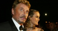 Illustration : Johnny Hallyday et son épouse Laeticia, le 19 septembre 2002 à Marrakech (Maroc)
