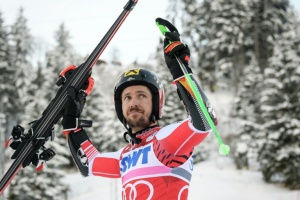 Illustration : Ski alpin: Marcel Hirscher, le monolithe de diamant