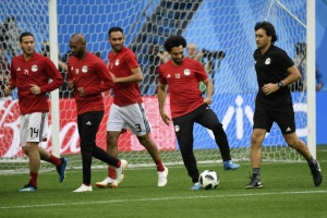 Illustration : Mondial-2018: Falcao, Lewandowski, et enfin Salah ? Les filets peuvent trembler