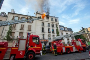 Illustration : Incendie mortel de Saint-Denis: un suspect admet être à l'origine