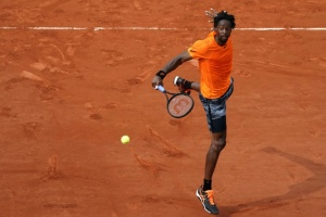 Illustration : Roland-Garros: Gaël Monfils, éternellement surprenant