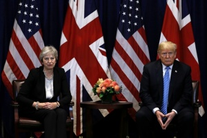 Illustration : Brexit: Trump savonne la planche de Theresa May