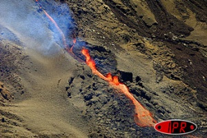 Illustration : Le volcan se rendort
