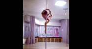 Illustration : Marion Crampe pole dance